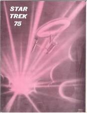 STAR TREK 75 - 1975 fanzine - Morris Scott Dollens cover Leonard Nimoy interview
