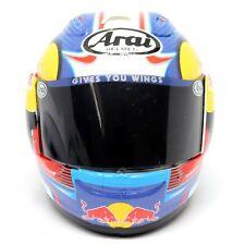 Arai Crash Helmet Moto GP Rider Dani Pedrosa 2012 1:5 Scale Die-cast Replica
