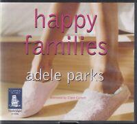 Adele Parks Happy Families 2CD Audio Book Unabridged Romantic Comedy FASTPOST