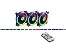 Argus RGB-Fan Set RS-04 Gehäuse-Lüfter 3x 120mm