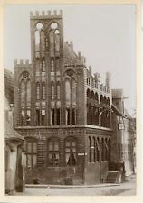 Allemagne, façade d'église, de bâtiment, ville à identifier  Vintage albume