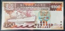 Singapore $100 Ship Series Banknote GKS A/10 562246