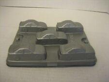 Jell-O Nascar Jigglers Mold Set 50th Anniversary Nascar 5 Cars Per Mold/2 Molds