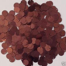 Sequins Paillettes / Flat 10mm Brown 225 pieces
