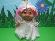 """MONKEY FACE BRIDE - 4"""" Unmarked Troll - NEW - Very Rare"""