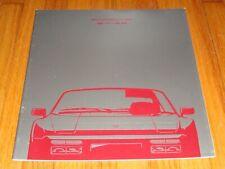 Original 1990 Porsche 944 S2 Deluxe Sales Brochure