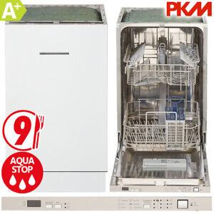 PKM Geschirrspüler 45 cm vollintegriert Spülmaschine Spüler Aqua Stop DW9-7FI