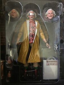 NECA BACK TO THE FUTURE 2 ULTIMATE DOC BROWN HILL VALLEY TARGET 2021