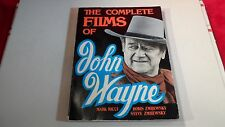 The Complete Films Of John Wayne by Zmijewsky,Zmijewsky and Ricci 1990 SC Movies