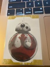 2017 Star Wars The Last Jedi Series One Resist! Gold #R3 BB-8. 14/25