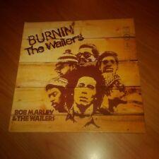 LP BOB MARLEY & THE WAILERS BURNIN' THE WAILERS ORL 19256 EX+/M UNPLAYED ITALY