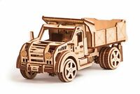 Wood Trick American Truck Car Mechanical Wooden 3D Puzzle Model Assembly DIY Kit