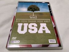 Who Do You Think You Are - USA - 2-Disc Set - UK Region 2 DVD