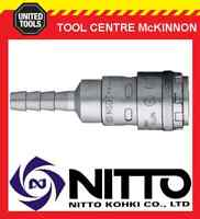 """GENUINE NITTO ONE TOUCH FEMALE COUPLING AIR FITTING - 3/8"""" AIR HOSE BARB (30SH)"""