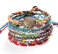 Wakami's Unisex Earth Bracelet With 7 Strands Made in Guatemala WA0389
