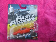 FAST AND FURIOUS PLYMOUTH ROADRUNNER 1970 NEW ON CARD 1/55