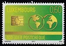 Luxemburg postfris 2011 MNH 1925 - Postgiro 100 Jaar
