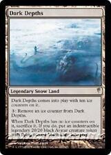 DARK DEPTHS Coldsnap MTG Snow Land RARE