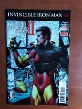 Invincible Iron Man #14 (2016) 9.2 NM Marvel Key Issue Comic Book Stan Lee