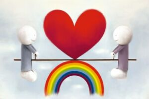 """Doug Hyde """"Love From A Distance"""" Mounted Only Limited Edition Print"""