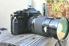 Canon A-1 35mm SLR Film Camera with 28-90mm Zoom Lens