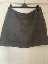 Dorothy Perkins Tweed Check Mini Skirt Size 20