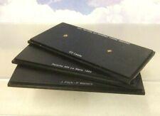 3 GENUINE ASSORTED SPARK 1/43 F1 MODEL PLINTHS BASES IN BLACK 140 x 70mm