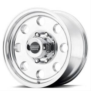 16x10 AMERICAN RACING BAJA 6x139.7 ET-25 Polished Wheels (Set of 4)