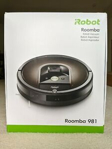 New iRobot Roomba 981 Robot Vacuum - Wi-Fi Connected Mapping