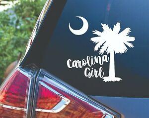 Carolina Girl Vinyl Car Truck Laptop Tumbler Decal Sticker