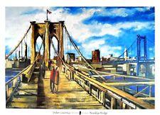 Didier Lourenco Ponte di Brooklyn Arte Poster Stampa immagine 70x100cm-germanposters