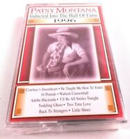 Patsy Montana Inducted Into the Hall of Fame 1996 Cassette SEALED NEW