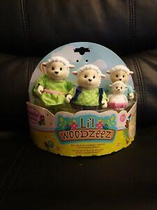 Li'l Woodzeez Snipadoodles Sheep Family Set