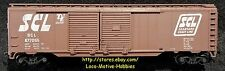 Athearn 1305  SEABOARD COAST LINE  Auto SCL 677055  50' AUTOMOBILE DD Boxcar RTR