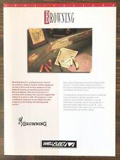Wellfleet Communications - Browning Arms Applications Sales Brochure (1992)