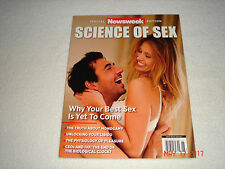 "Newsweek Magazine ""SCIENCE OF SEX""       BRAND NEW       Buy 1 get 1 Free"