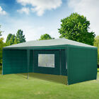 Outsunny 6 x 3m Garden Gazebo Marquee Canopy Party Tent Canopy Patio Green