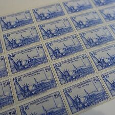 FEUILLE SHEET EXPOSITION NEW YORK N°458 x25 NEUF ** MNH COTE 875€