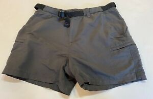 The North Face 100% Nylon Belted Shorts Women's XL