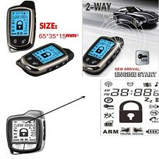 Sistema de seguridad alarma de coche de 2 vías con LCD Súper Larga Distancia Controlador contra robo
