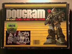 Dougram VINTAGE 1984 1:72 Soltic 02 99% Complt w/Box/Cradle/Papers TAKARA METAL!