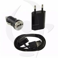 Alimentation Cable Chargeur Secteur Allume Cigare 1A iPhone  4S 4 3Gs 3G iPod