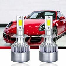 New listing 1Pair Car Cob H7 C6 12000Lm 72W Led Headlight Kit Hi/Lo Turbo Light Bulbs 6000K