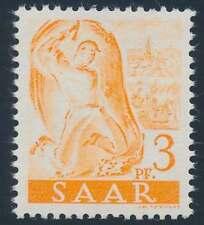 Saarland Nr. 227 II fA postfrisch / **, Neuauflage ohne Aufdruck (46915)