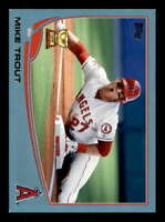 Mike Trout Card 2013 Topps Wal-Mart Blue Border #27