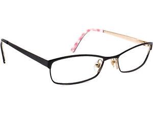 Kate Spade Eyeglasses Alfreda 0X96 Black/Gold Full Rim Metal Frame 51[]18 135
