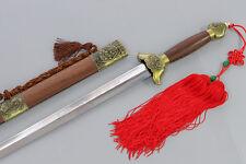 Handmade Chinese Wushu Sword KungFu Tai Chi Jian Martensitic Stainless Steel