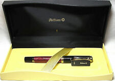 Pelikan Souveran R400 Roller Ball Pen Red & Black New In Box Beautiful Pen