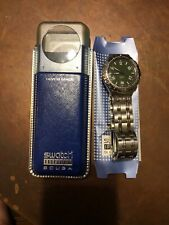 Swatch Watch Irony Scuba YDS107 Camouflage 1997 New Never Worn Stainless Steel