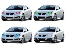 LED Headlight Halo Ring RGB Multi-Color Kit for Pontiac G6 05-10